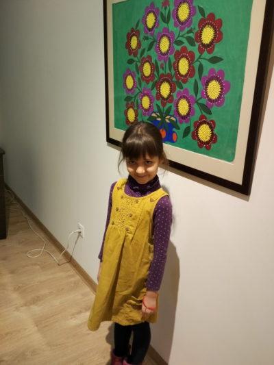 Мария Приймаченко в Галерее украинской живописи