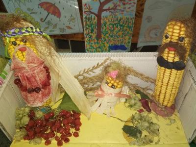 Детские поделки из овощей на тему осень