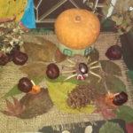 Выставка детских поделок на тему «Осень» в школе