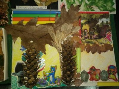Выставка детских поделок на тему Осень