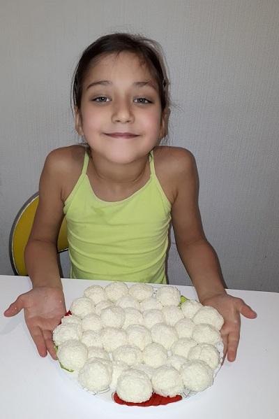 Какие сладости могут приготовить дети 8 лет