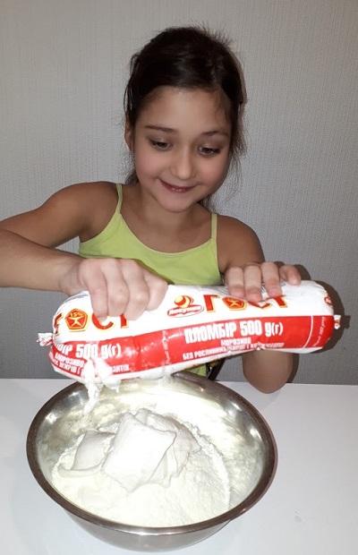 Конфеты из детской каши