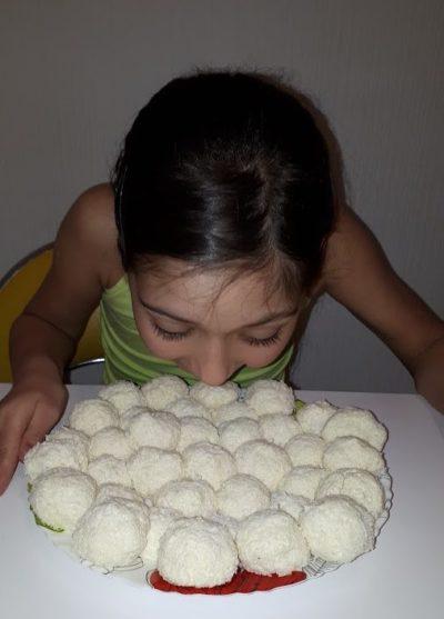 Конфеты из детской смеси Малютка рецепт