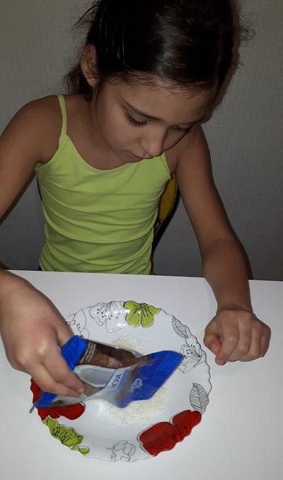 Конфеты из смеси Малютка с мороженым
