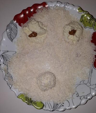 Пирожное из смеси Малютка
